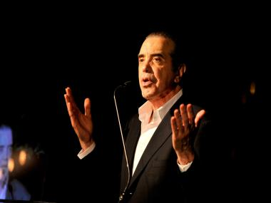 Chazz Palminteri will bring his one-man show,