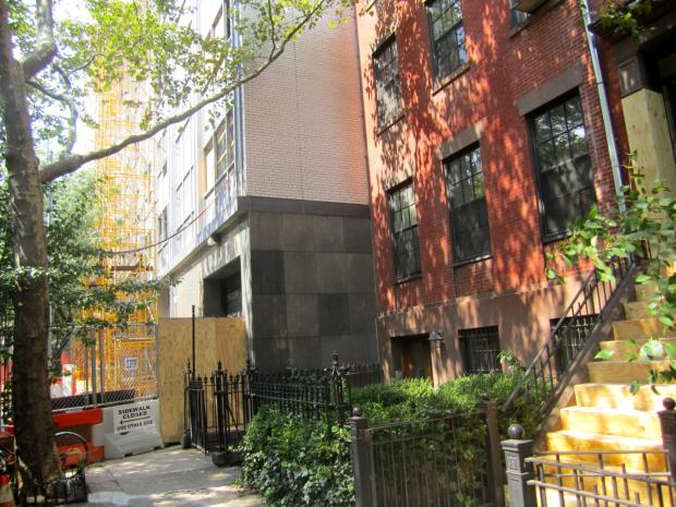 Residents of 131 W. 11th St. in Greenwich Village are trying to stop the developer of the former St. Vincent's Hospital from doing construction on their building during the project.