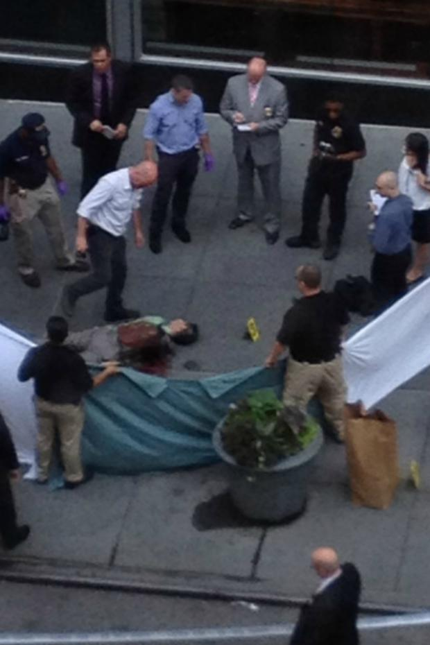 Shocking Images From The Empire State Building Shooting