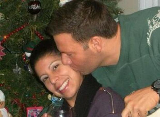 Steven Ercolino's fiancee Ivette Rivera posted photos on her Facebook page of them sharing a tender kiss. Ercolino was shot to death by a former coworker near the Empire State Building, Aug. 24, 2012.
