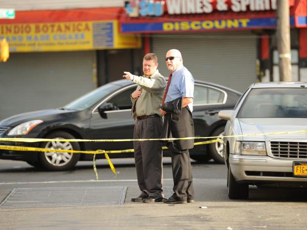 A man was shot and killed outside of 94-02 80th Street in Queens.