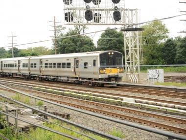 A man was struck and killed by a Long Island Railroad train on Thursday, Dec. 13, 2012.