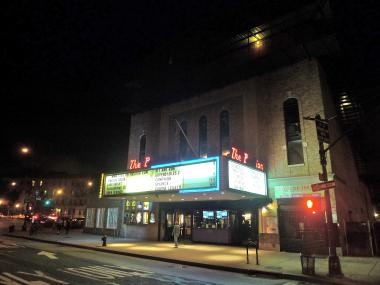 The Pavilion theater on Prospect Park West at Bartel-Pritchard Square in Park Slope.