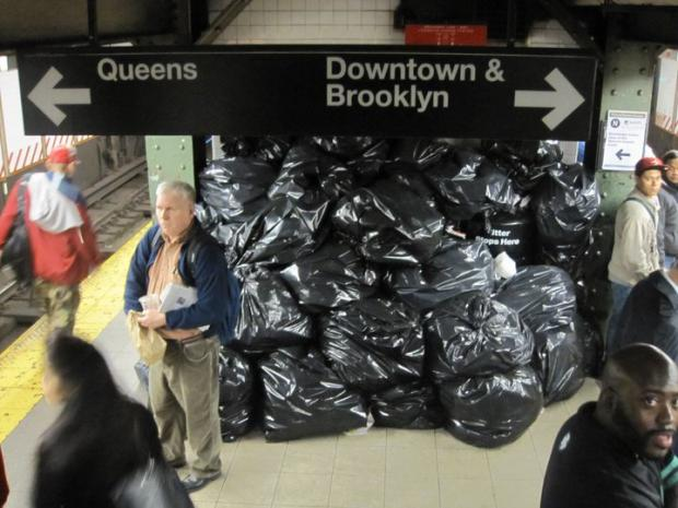 The MTA is removing more garbage cans in an effort to reduce trash.