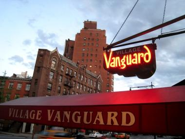 The Village Vanguard is located at 178 Seventh Ave. South in Greenwich Village.