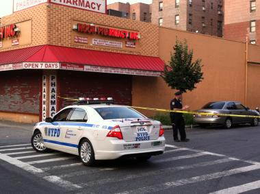 A woman was shot and killed and three others were wounded in a shooting in Flatbush on August 30, 2012.