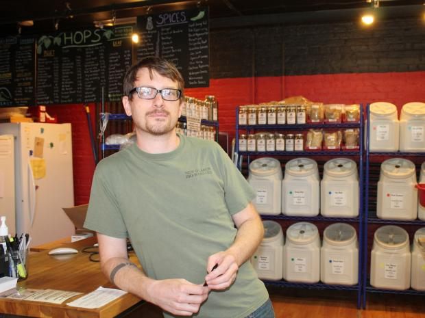 Homebrewing is gaining popularity in the city.