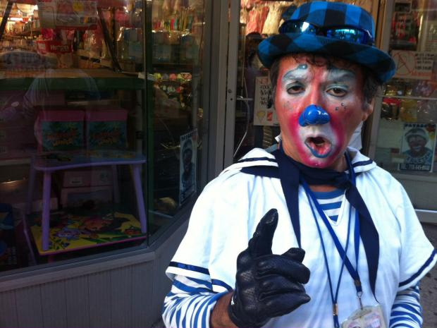 Luis Salazar, 50, moved to the United States from Peru and gave up his dream of becoming a photographer. His new dream? Working as a clown in Jackson Heights, Queens.