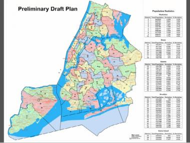 City Council district lines would change considerably under a new proposal released Tuesday.