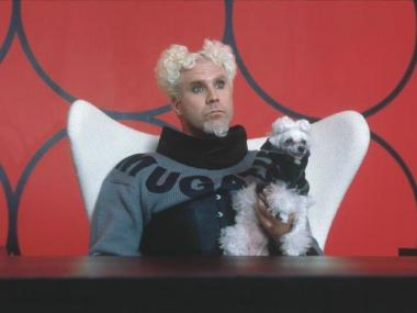 Will Ferrell plays Jacobim Mugatu in