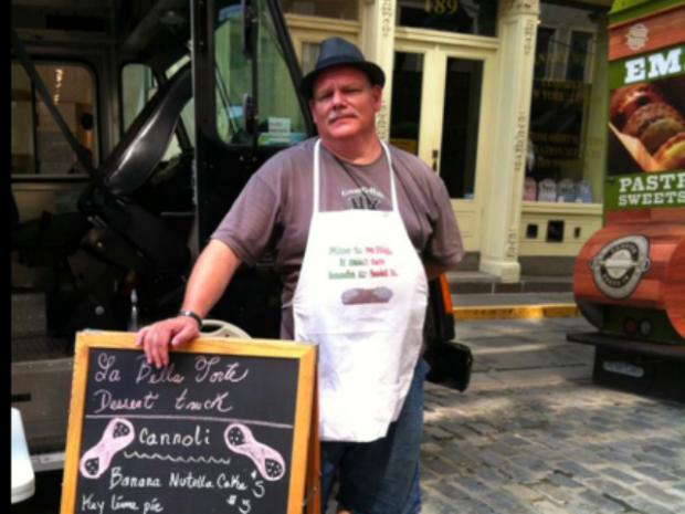 La Bella Torte, a cannoli truck, was the only non-ice cream Vendy dessert finalist named Wednesday.