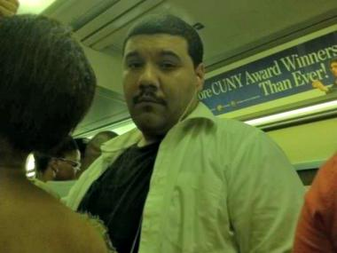 Police are searching for the suspect wanted for committing a lewd act while boarding an A train in Brooklyn back in July.