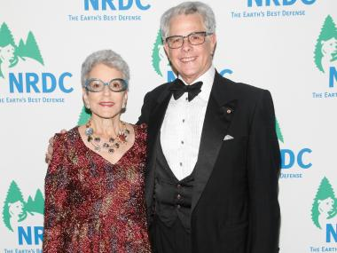 Patricia Bauman and John Landrum Bryant attend NRDC's 13th Annual 'Forces For Nature' Benefit at American Museum of Natural History on November 14, 2011. They are being sued by a former employee accusing Bryant of sexual harassment.