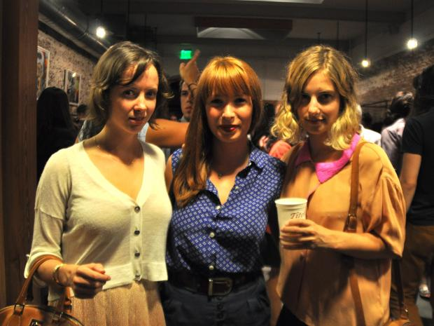 The Williamsburg night of style included vintage shops, DJ's, drinks and designer handbags.