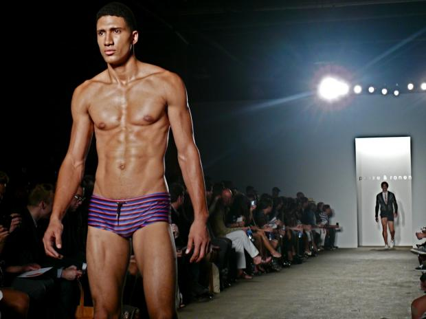 The menswear brand's Spring 2013 collection featured a rich array of colors and patterns.