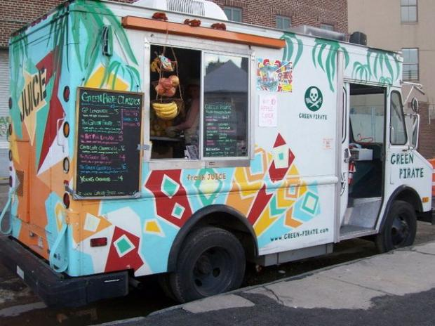 Grand Army Plaza will have at least four food trucks and cafe seating every Saturday through November 24.