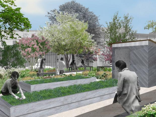 The Gil Hodges Carroll Street Community Garden in Gowanus is set for a $245,000 make-over by the New York Restoration Project.