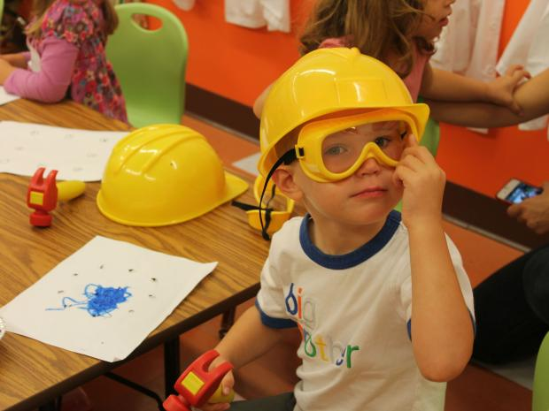 A new class at play space Apple Seeds' new UWS location teaches toddlers construction skills.