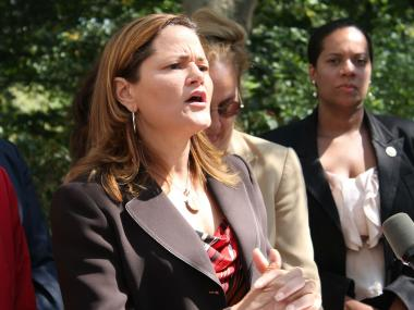 City Councilwoman Melissa Mark-Viverito spoke about how rape and sexual assault are the greatest fears of every woman, a day after a robbery and rape occurred mid-day in Central Park.