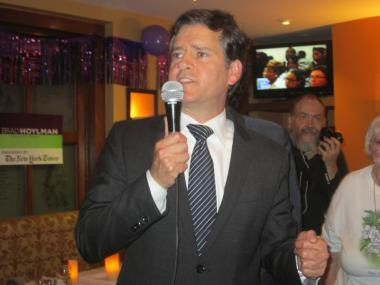 Former Community Board 2 chair Brad Hoylman won Tom Duane's State Senate seat for the 27th District on Sept. 13, 2012.