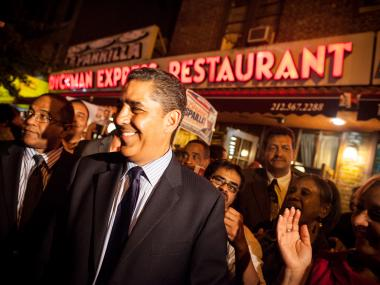 Congressman-elect AdrianoEspaillat said Inwood saw a reduction of three licenses this past year due to his proposed yearlong moratorium.