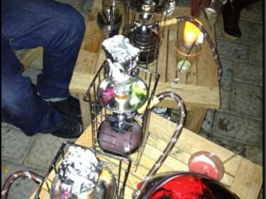 The owners of La Marina say they can sell hookah, becaus customers smoke a non-tobacco shisha.