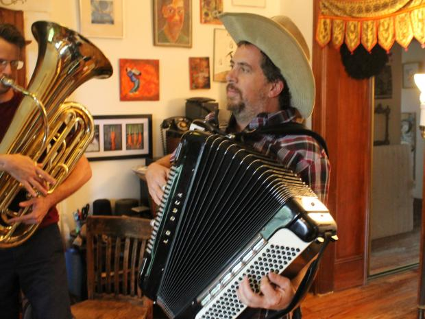 For four years, Raya Brass Band has been a regular fixture at beer halls around the borough.