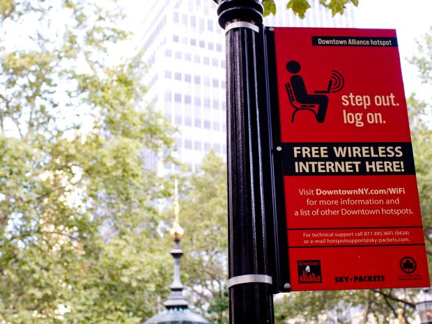 The Downtown Alliance has partnered with law firm WilmerHale to expand WiFi coverage in Lower Manhattan.