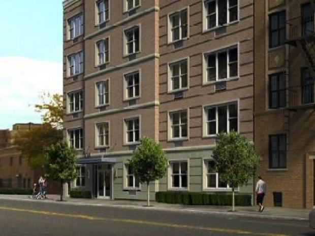 A 31-unit building headed to Broadway will bring affordable housing and a Dollar Tree.