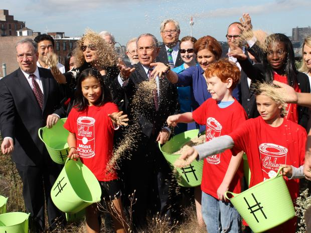 Mayor Michael Bloomberg said he worried that kids are being over-protected.