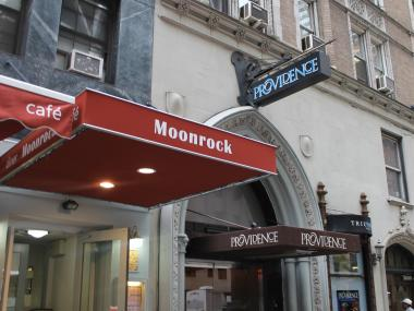 The Moonrock Diner can no longer stay open 24 hours on weekends because of the nearby Providence club.