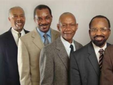Good Tidings Gospel Chapel elders from left to right: Daril Neverson, Lloyd Allgood, Theophilus Cato and Patson Agard. Agard is suing Neverson, Allgood, Cato and the church for excommunicating him and slander.