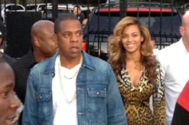 Beyonce and Jay-Z visited La Marina in Inwood on Sept. 23, 2012.