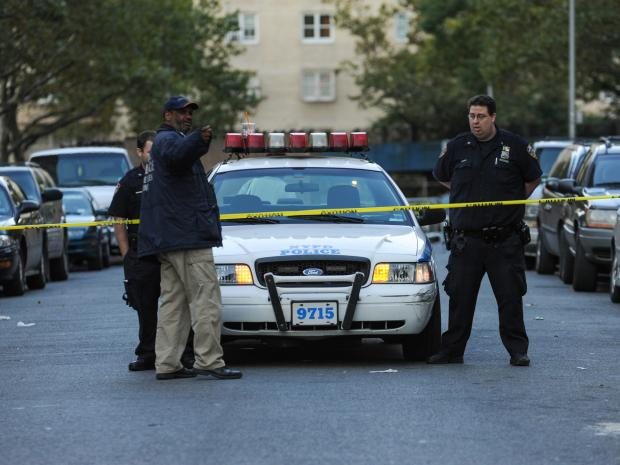 A 33-year-old man was shot outside of 125 Taylor Street in Brooklyn on Sept. 25, 2012.