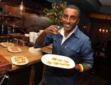 "Celebrity chef Marcus Samuelsson is opening a new restaurant at Lincoln Center called ""American Table"" that will replace At65 at Alice Tully Hall."
