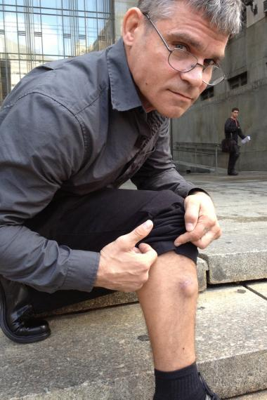 Ex-Cro-Mags Bassist Harley Flanagan in Manhattan Criminal Court September 27, 2012