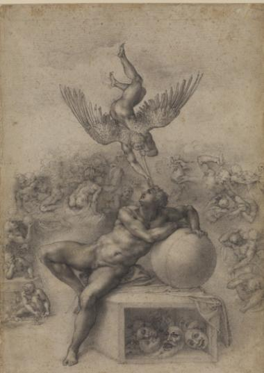"The Frick's ""Master Drawings from the Courtauld Gallery,"" runs Oct. 3 - Jan. 27 2013."