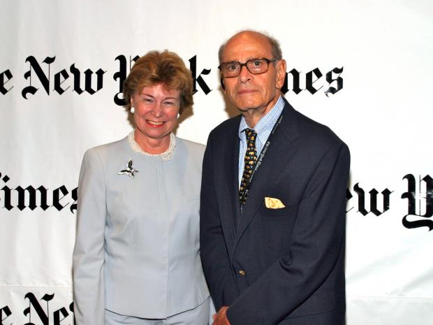 The children of Arthur Ochs Sulzberger Sr. want to sell the $40 million in stock that the late New York Times publisher held in his company.