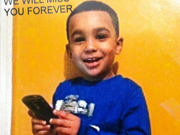 Gabriel Estevez, 3, died after falling from a window of a building in the Bronx.