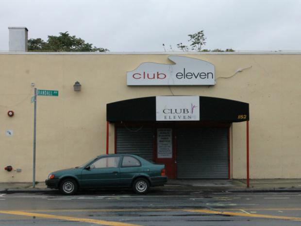 The State Liquor Authority has filed charges against Club Eleven, at 1152 Randall Ave., the site of many violent incidents.