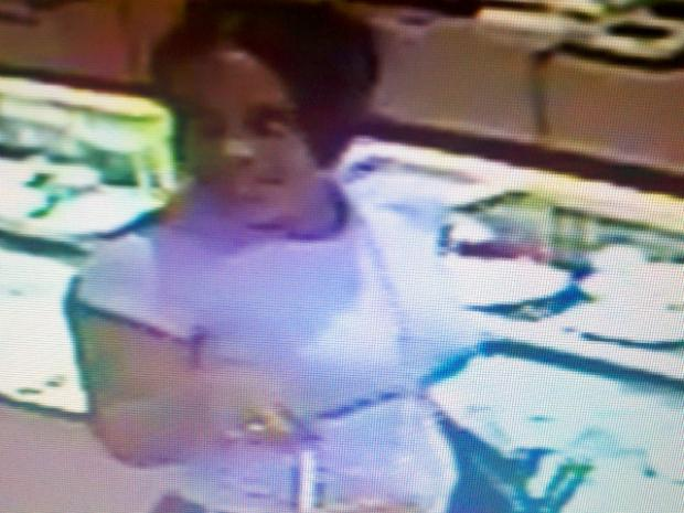 The NYPD is looking for a suspect who made purchases using stolen credit cards.