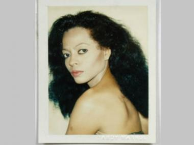 The rare Andy Warhol Polaroid 'Diana Ross' will be up for auction at the Children's Museum of the Arts' annual Art Auction Oct. 23, 2012.