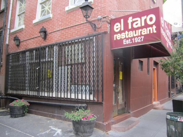The 85-year-old Greenwich Street restaurant was hit with 57 violation points in a Sept. 28, 2012 inspection by the city Health Department.