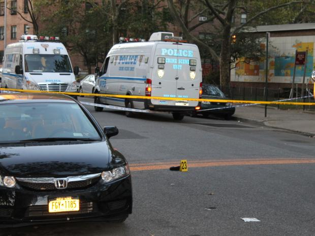 Police shot a man they believed is a car thief in Williamsburg late Thursday October 11, 2012.