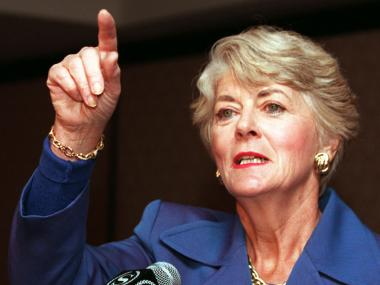 Geraldine Ferraro served three terms in Congress in the 1980s.