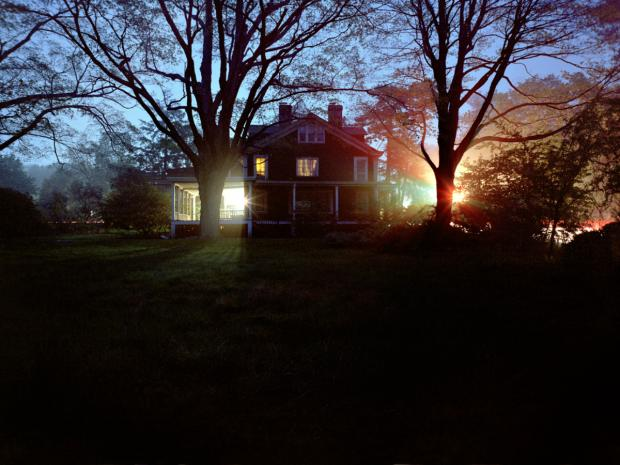 "Photographs from Corrine May Botz, part of the ""Haunted Houses"" exhibit at the Alice Austen House museum."