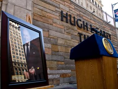The Brooklyn-Battery Tunnel was renamed in honor of former Gov. Hugh L. Carey.