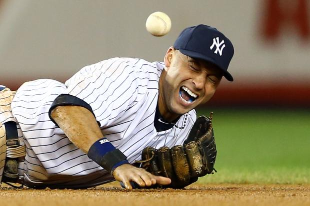 Yankees team captain suffered an ankle break in Game 1 of the AL Championship Series.