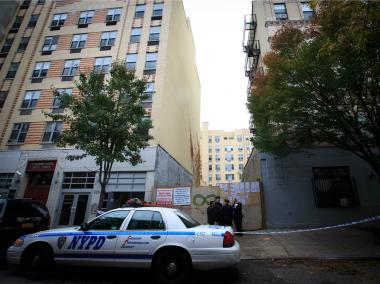 Police are investigating the death of a woman whose body was found at 227 E. 7th St. in the East Village on Wednesday October 24, 2012.