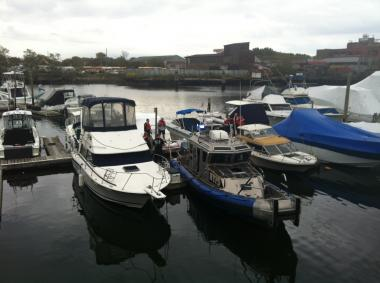 A young man discovered a body at a Mill Basin inlet on October 15, 2012.
